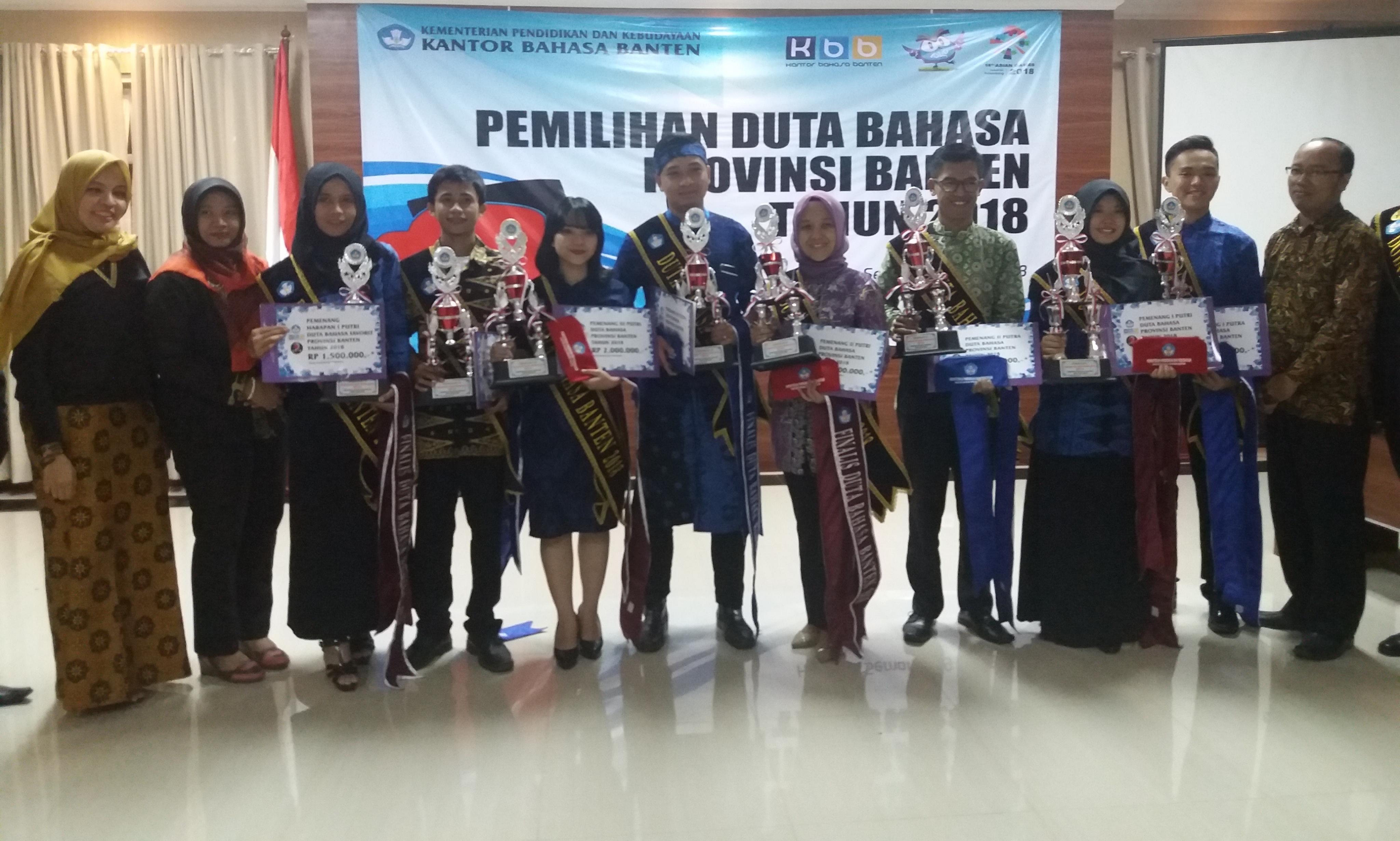 Pemilihan Duta Bahasa 2018