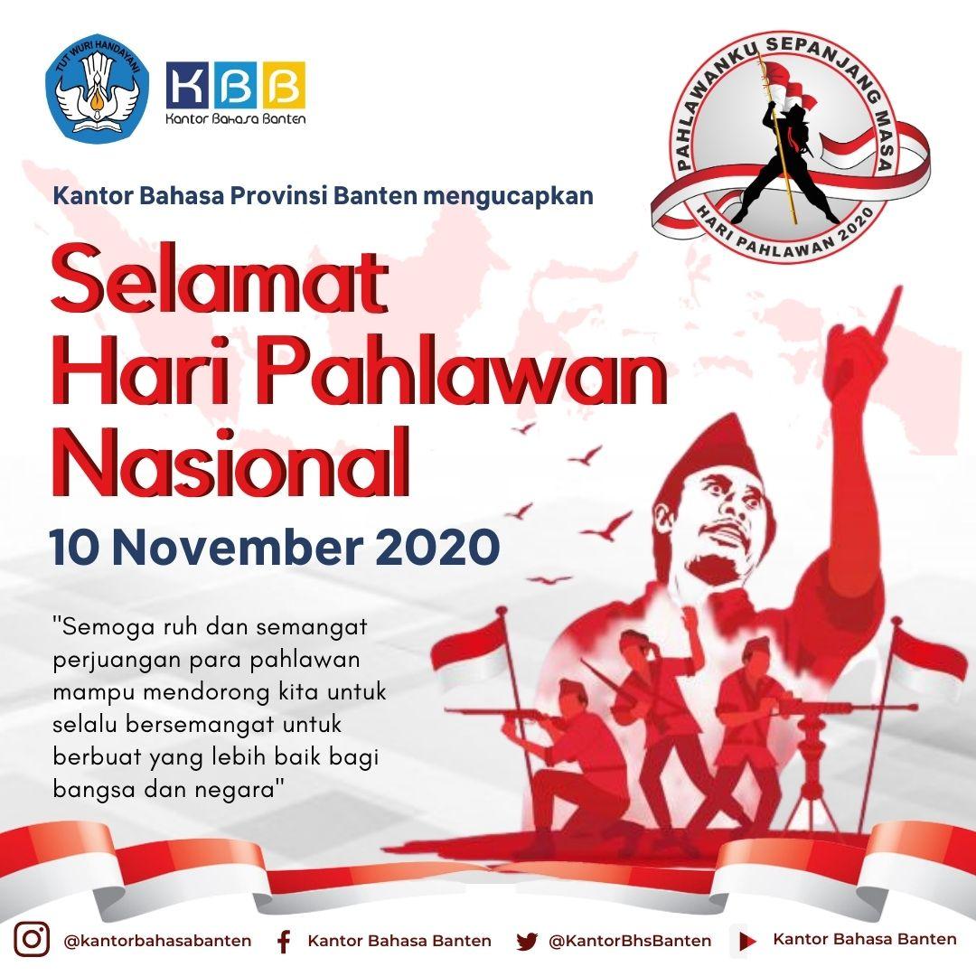 Selamat Memperingati Hari Pahlawan Nasional